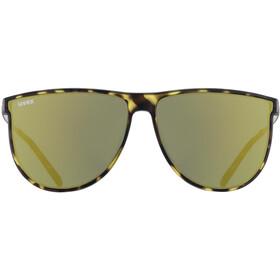 UVEX LGL 47 Glasses havanna matt/mirror green